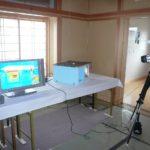 解りやすい赤外線カメラで熱の移動状況を説明しています。