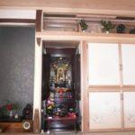 床飾り、仏壇、神明宮、