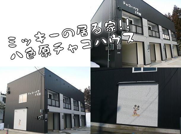 ☆ ミッキーの居る家 ☆ 八色原チャコハウス1号館・2号館